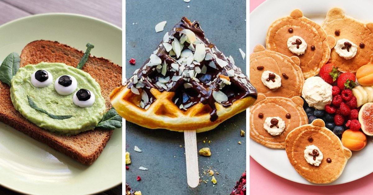 16 Desayunos divertidos para celebrar el Día del Niño en casa