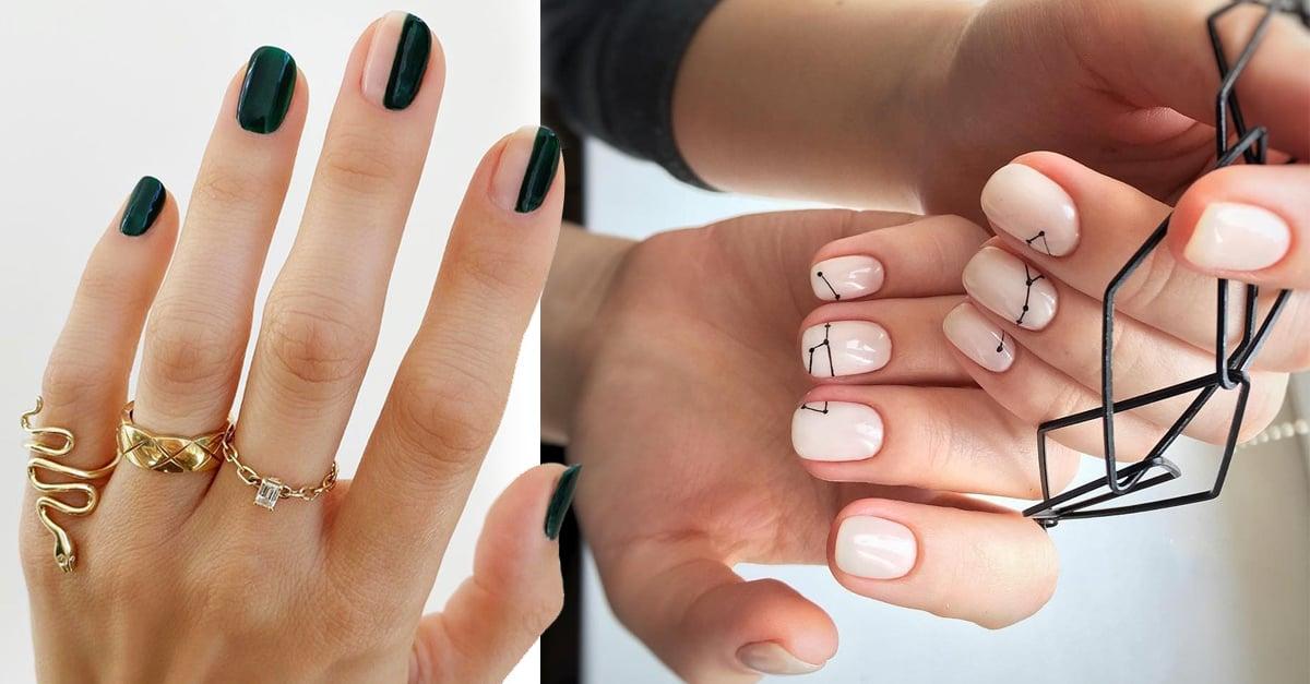 20 Estilos de uñas supersencillos que puedes hacer tú misma