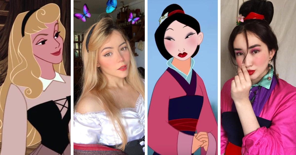 #PrincessChallenge, el reto de imitar a tu princesa favorita con ropa que tienes en casa