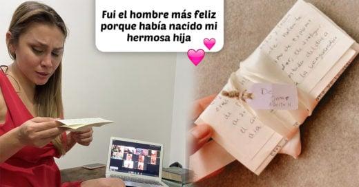 Le escribió una carta a su esposa para que no olvidara la voz de su padre