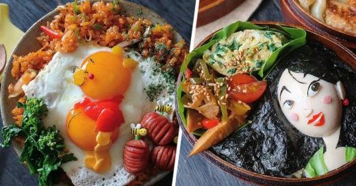 Esta mamá japonesa hace los desayunos más tiernos con huevos