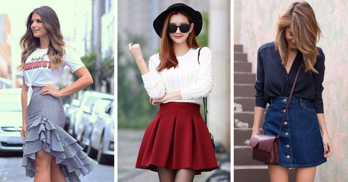 5 Tipos de faldas que debes usar si quieres verte más curvi