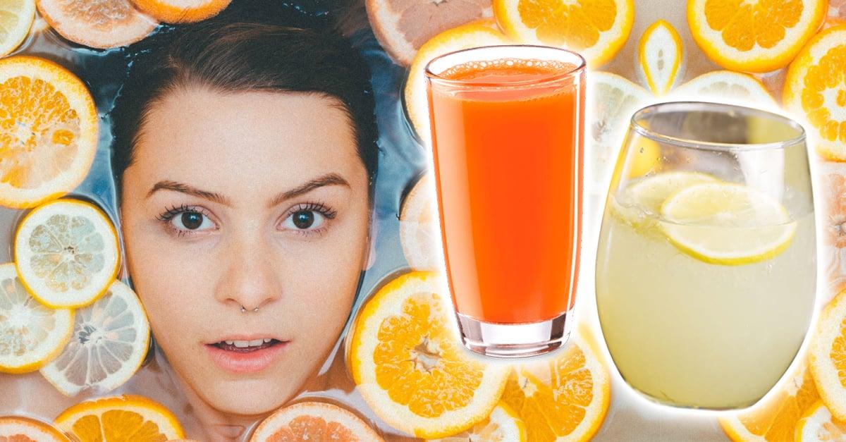 10 Bebidas para cuidar tu piel sin químicos