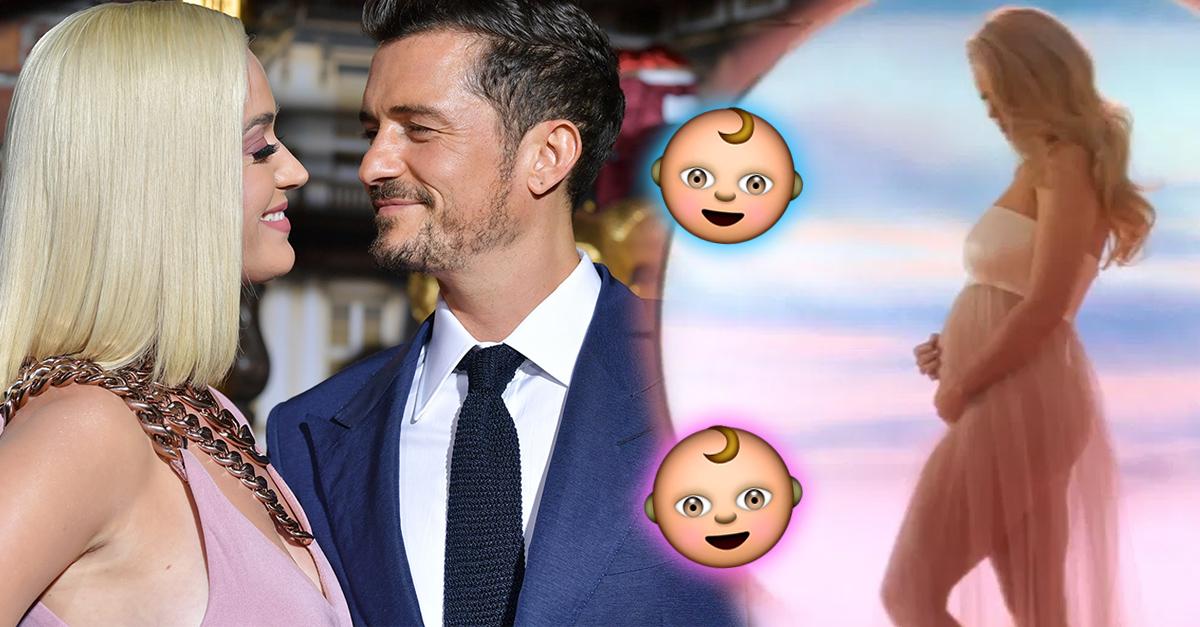 Katy Perry revela el sexo de su bebé con una foto de ¿Orlando Bloom?