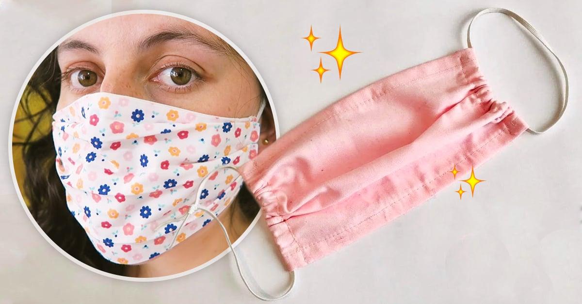 Estas son las mejores telas para que hagas tus cubre bocas en casa