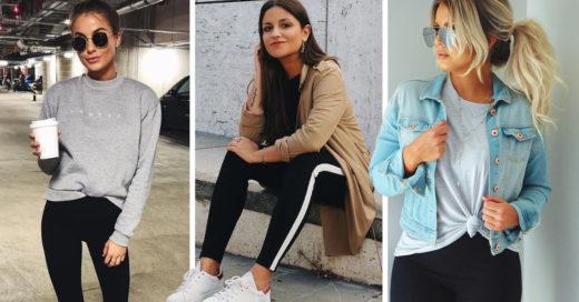 15 Looks con los que les darás juego a tus leggins todos los días