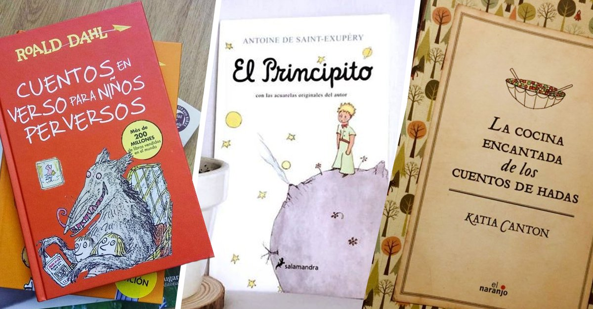 15 Libros perfectos para que los niños sean amantes de la lectura
