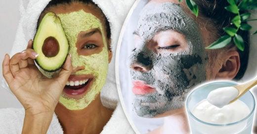 12 Mascarillas caseras ideales para consentir tu piel