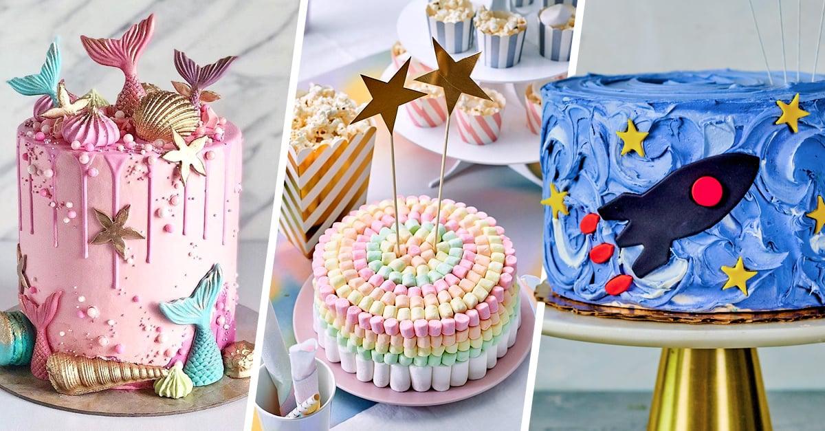 21 Deliciosos y hermosos pasteles infantiles para celebrar a los niños en su día