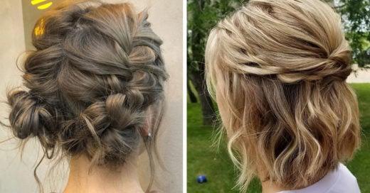 15 Peinados perfectos para las chicas de cabello corto