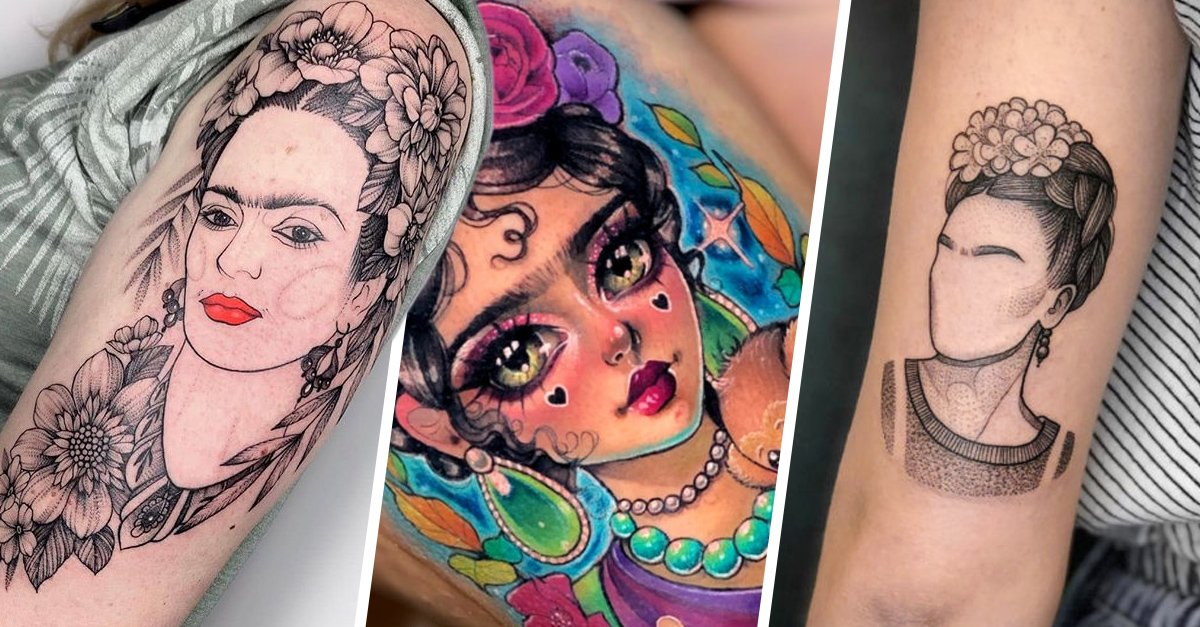 28 Tatuajes inspirados en Frida Kahlo para que vivas la vida