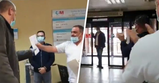 Taxista transporta gratis a pacientes con Covid-19 y recibe reconocimiento