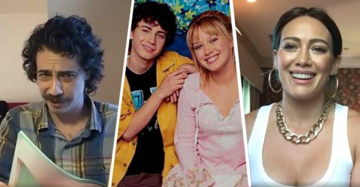 El elenco de 'Lizzie McGuire' se reúne en una videollamada, Hilarry Duff y Adam Lamberg