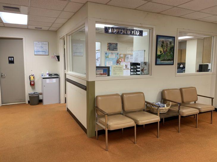 Sala de espera de algún consultorio