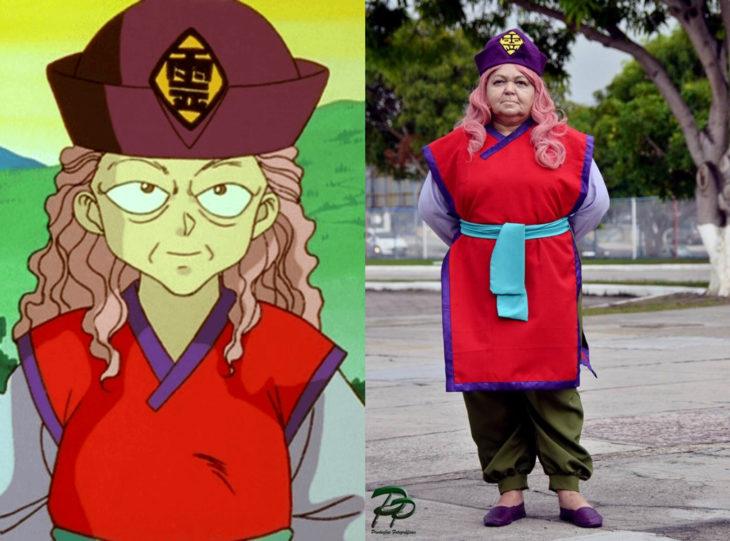Tía Sol, la abuelita brasileña que hace cosplay; Genkai, Yu yu hakusho