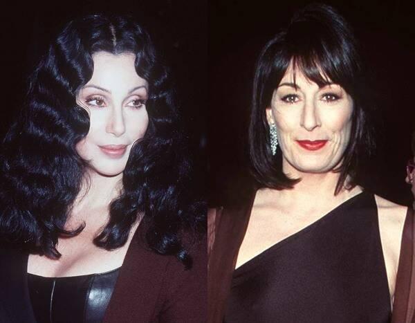 Cher y Anjelica Huston