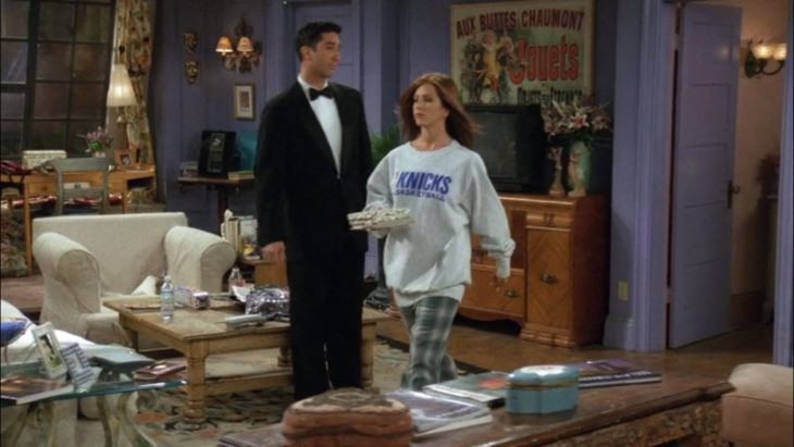 Jennifer Anisteon en el El episodio de Friends, The One Where No One's Ready