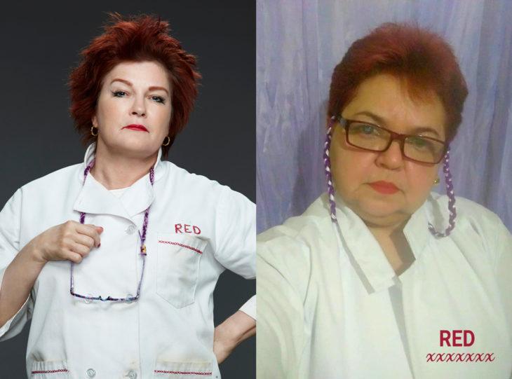 Tía Sol, la abuelita brasileña que hace cosplay; Galina Reznikov, Roka, Orange is the new black