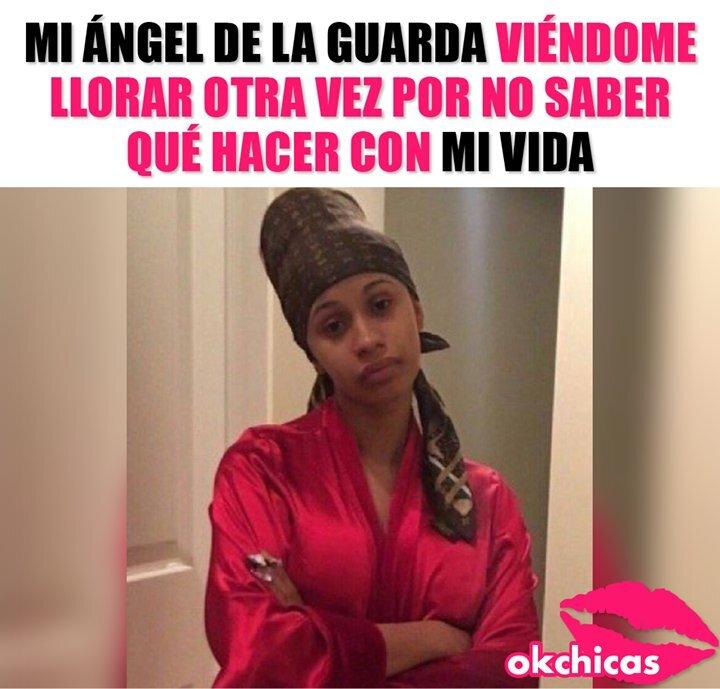 meme ángel de la guarda