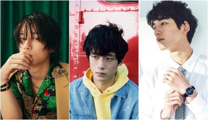 Kentaro Sakaguchi actor japones modelando para la revista Elle en Japón