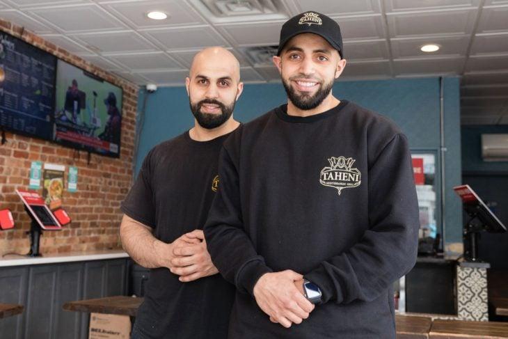 Hamza y Anas Deib