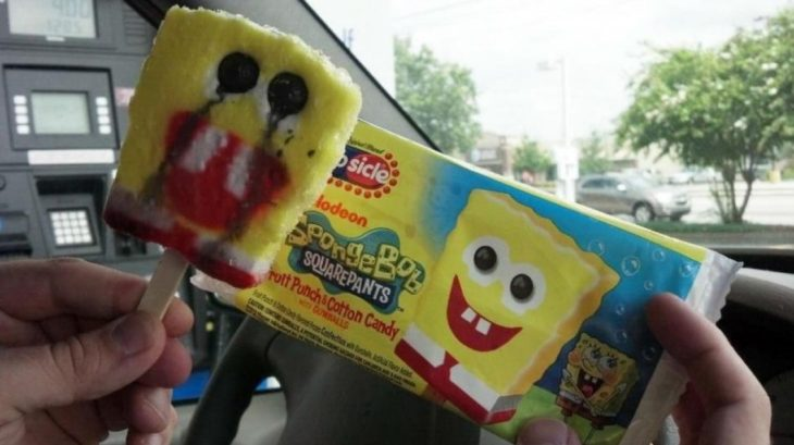 Expectativa VS realidad de paleta de bob esponja