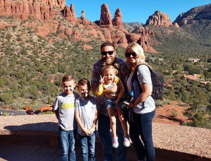 Familia Clark de vacaciones