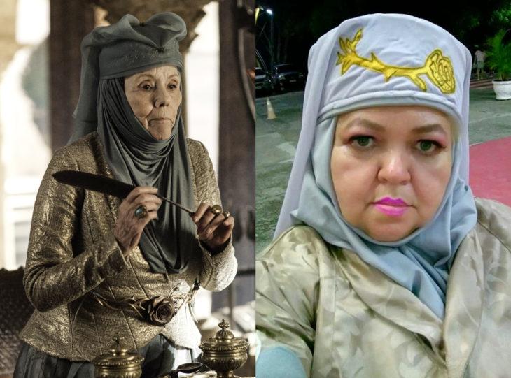 Tía Sol, la abuelita brasileña que hace cosplay; Game of Thrones, Olenna Redwyne