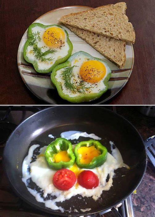 Expectativa VS realidad de foto de receta y la que haces tu