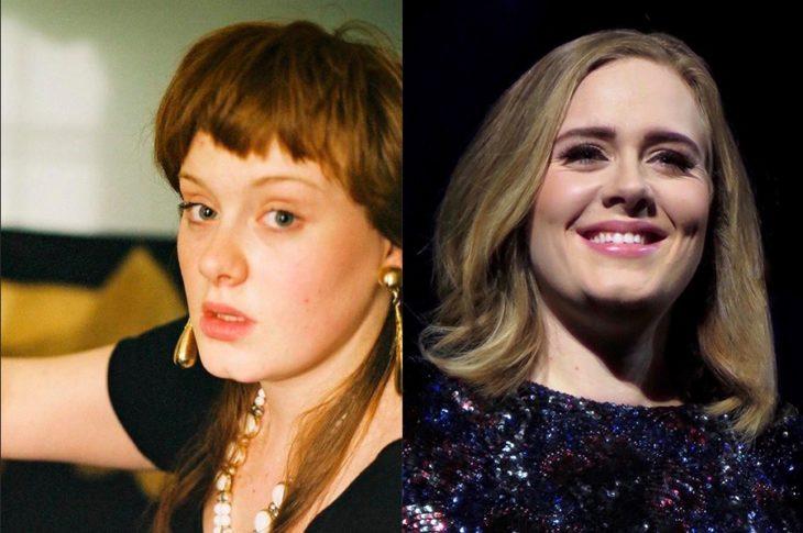 Antes y después de la fama de Adele