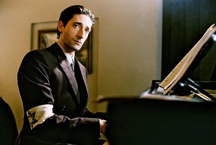 Actuación de Adrien Brody en la película de El pianista