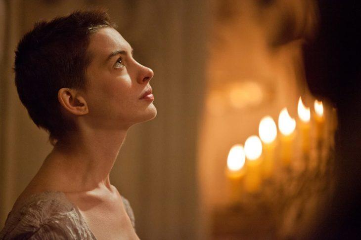 Actuación de Anne Hathaway en la película de Los miserables