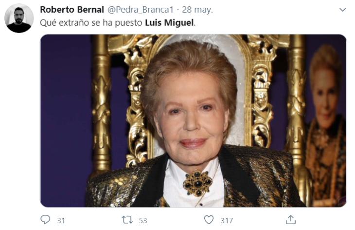 Memes comercial Luis Miguel