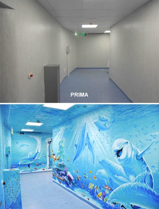 Silvio Irilli el artista que transforma hospitales en obras de arte