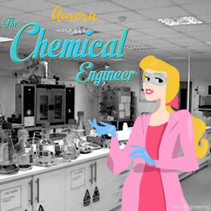 Aurora sería ingeniera química