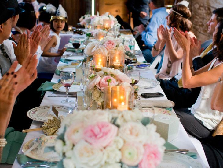 Banquete de una boda