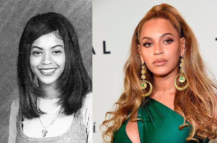 Antes y después de la fama de Beyoncé