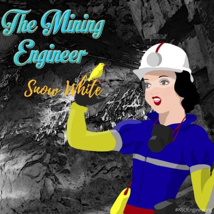 Blancanieves sería ingeniera en minería
