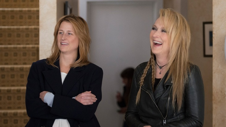 Meryl Streep y Mamie Gummer en la película Ricki and the flash