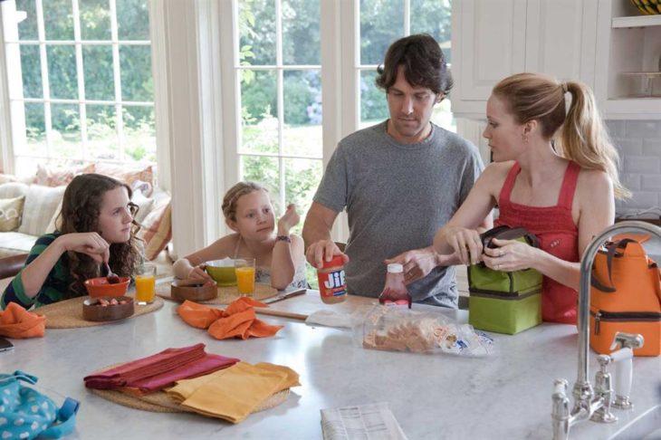 Maude, Leslie Mann e Iris Apatow en la película This is 40
