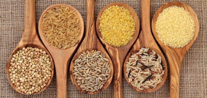 Cucharas con cereales integrales