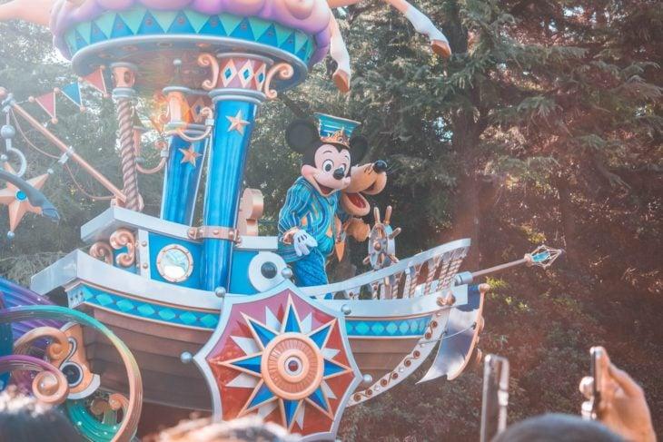 Desfile en Disneyland