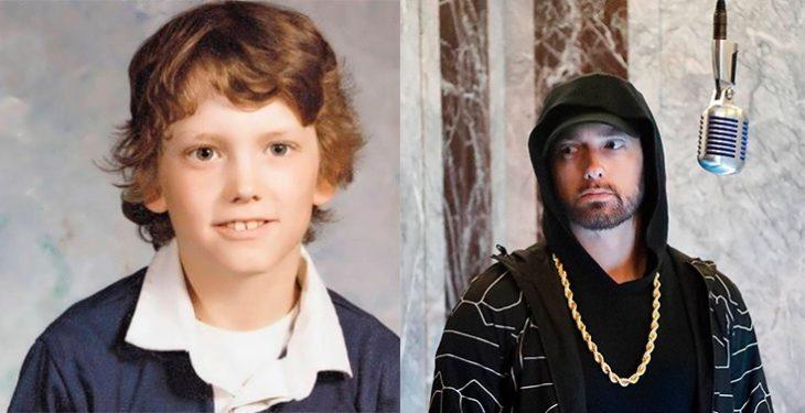 Antes y después de la fama de Eminem