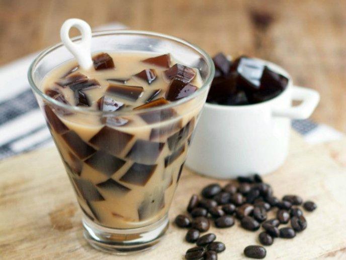 Gelatina de café con leche
