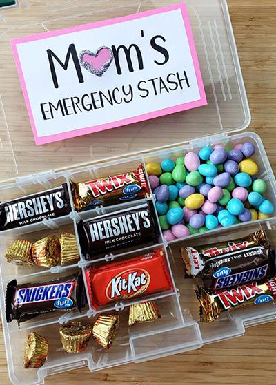 Caja de dulces para mamá