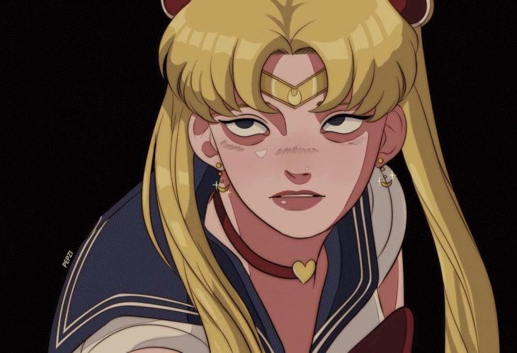 Sailor Moon Challenge, artistas se unen al reto de ilustrar a Serena Tsukino en su estilo