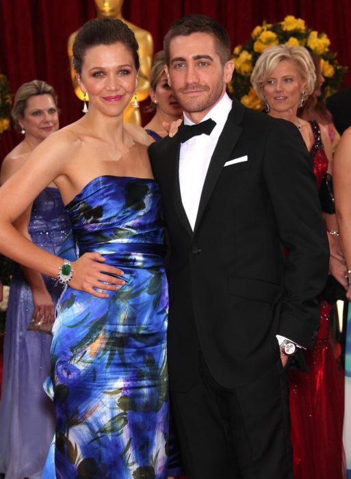 Jake y Maggie Gyllenhaal en un evento social
