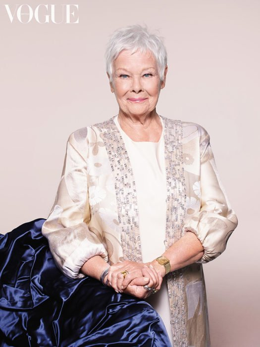 Judi Dench portada Vogue