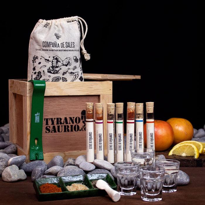 Kist de especies para hacer ginebra casera