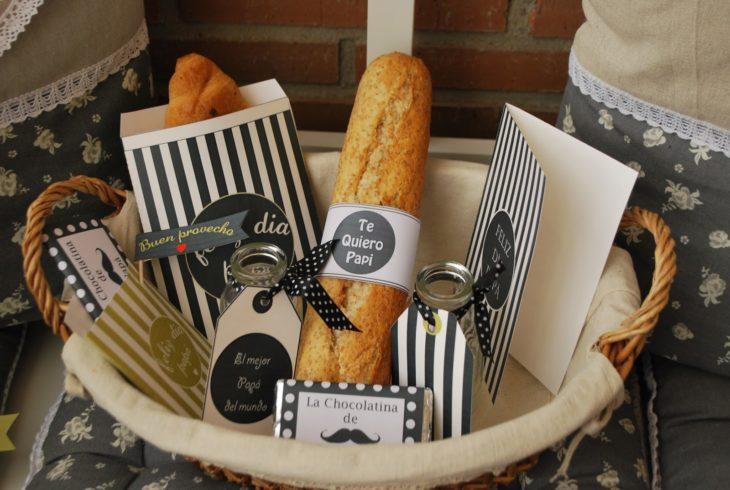 Kit de pan dulce y salado pata el día del padre